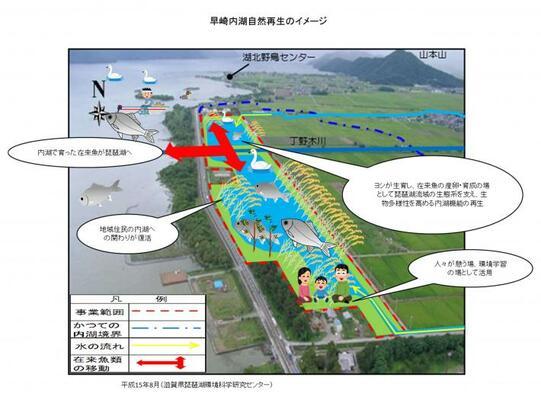 内湖の再生にむけて 日本最大のビオトープ実験地「早崎内湖ビオトープ」