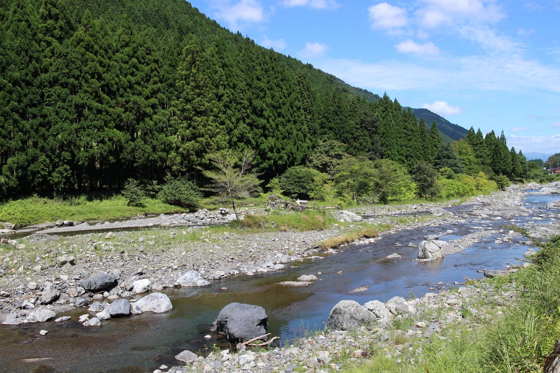 河川以外から来る琵琶湖の水