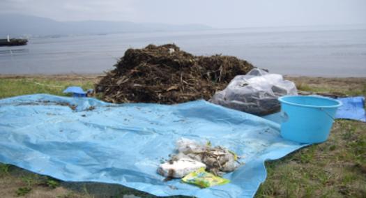 漂流物から散在性ごみまで、琵琶湖のごみ問題